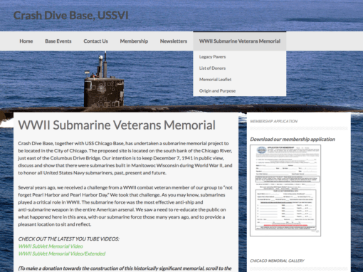 Chicago WWII Submarine Veterans Memorial